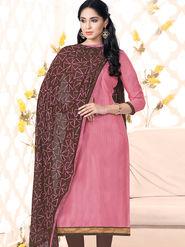 Viva N Diva Bhagalpuri Silk Embellished Unstitched Suit Utsav-5011