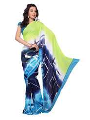 Variation Georgette Printed Saree -VD14606