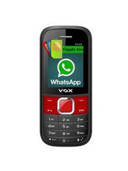 VOX V3100 Triple SIM Phone With WhatsApp - Black