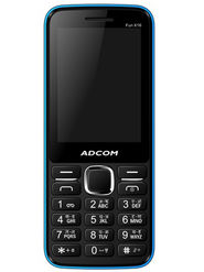 Adcom Fun X16 Dual Sim Mobile - Black&Blue