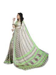 Khushali Fashion Silk Crepe Jacquard Saree(Multi)_YNCHN20550