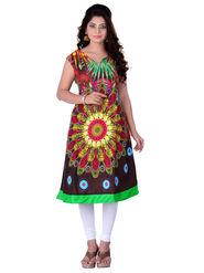 Viva N Diva Cotton Rayon Printed Kurtis -Zeesha-Vnd-2009-B