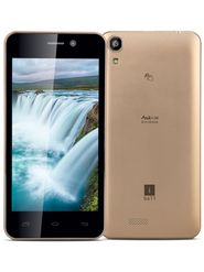 iBall Enigma Andi 4.5M Andorid Kitkat, Quad Core Processor with 1 GB RAM & 8 GB ROM - Gold