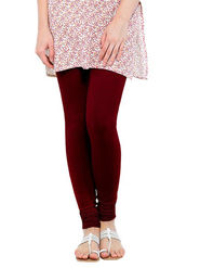 Oh Fish Solid Cotton Stretchable Leggings -zwe90
