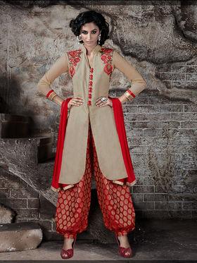Viva N Diva Heavy Bhagalpuri Embroidered Semi Stitched Suit 10029-Shriyaa