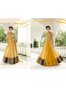 Viva N Diva Net & Georgette Embroidered Semi Stitched Suit 10153-Lavish