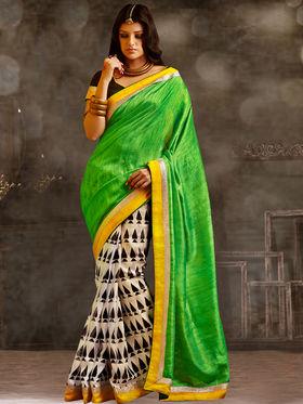 Viva N Diva Printed Bhagalpuri Saree -sa06