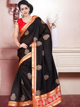 Viva N Diva Embroidered Bhagalpuri Saree -ja11