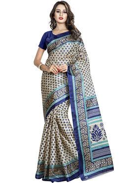 Viva N Diva Printed Taffeta Saree -11059-Pooja