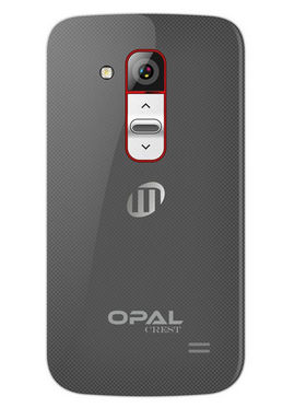 Mtech Opal Crest 3.5 Inch 3G Android Kitkat Dual Camera Smartphone - Grey