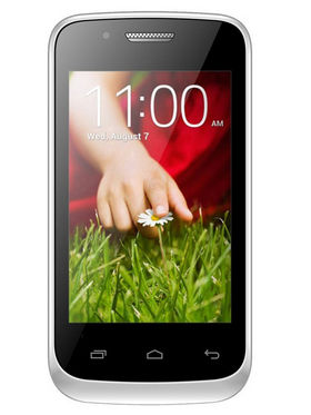 Mtech Opal Crest 3.5 Inch 3G Android Kitkat Dual Camera Smartphone - White