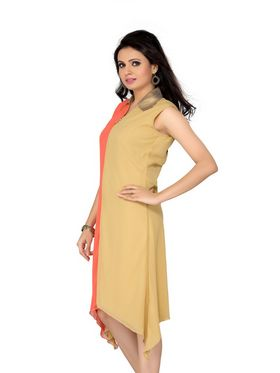 Ishin Georgette Solid Ladies Dresses - Multicolour_INDWT-141