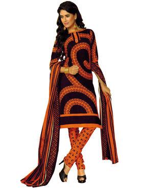 Pack of 2 Priya Fashions Cotton Printed Dress Material - PFS2CD