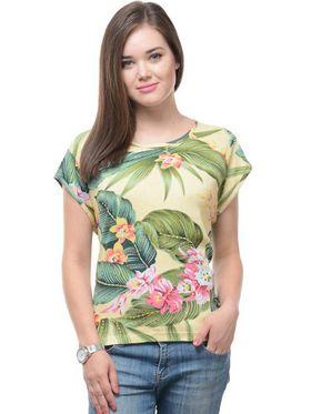 Lavennder Solid Regular Fit T-Shirt - Multicolor_LW-3870