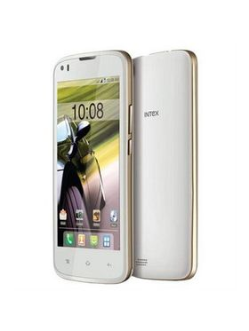 Intex Aqua Speed Quad Core 1.3Ghz, Upgradable LOLIPOP 3G Smartphone - White
