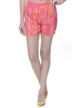 Lavennder Ladies Georgette Short With Lining - Fuchsia_LW-5153