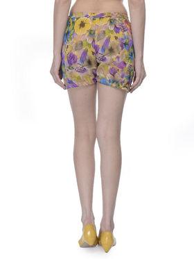 Lavennder Ladies Georgette Short With Lining - Multi_LW-5157