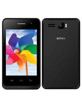 Intex Aqua X15 Smart Mobile Phone - Black
