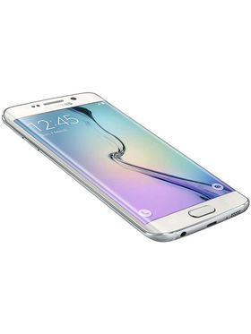 Samsung Galaxy S6 Edge Android Lollipop with 64 GB Internal Memory - White