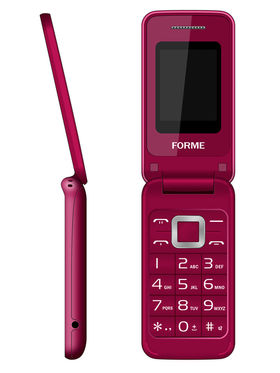 Forme C3520 1.8 Inch Dual Sim Mobile - Red