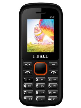 I Kall K55 1.8 inch Dual Sim Mobile - Black & Orange