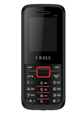 I Kall K88 1.8 inch Dual Sim Mobile  - Black & Red