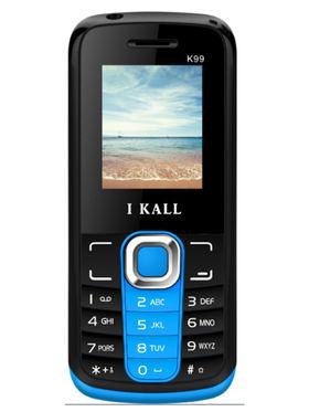 I Kall K99 1.8 inch Dual Sim Mobile  - Blue & Black