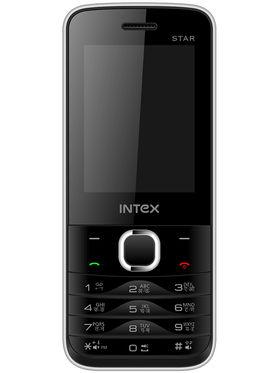 Intex Turbo Star 2.4 Inch Dual Sim - Black & Silver
