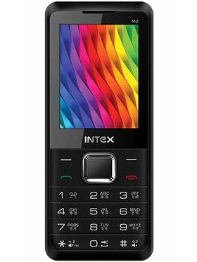 Intex Turbo M2 2.4 Inch Dual Sim - Black & Red