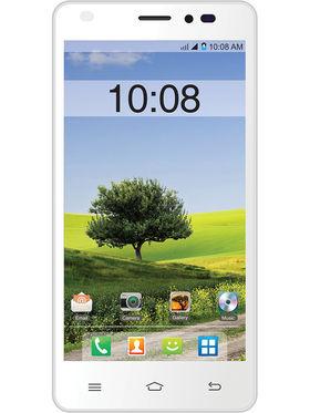 Intex Cloud M5 II 5 Inch Android (KitKat) 3G Smartphone - White & Orange