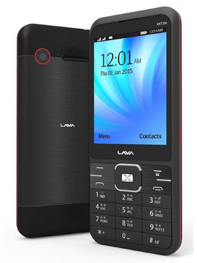 Lava KKT 28i 2.8 Inch Dual Sim - Black & Red