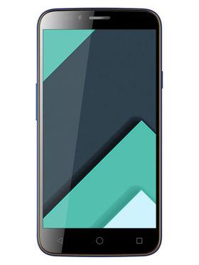 Karbonn Quattro (4G) L50-HD 5 Inch Android (Lollipop) Dual Sim Smartphone - Coffee