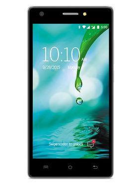 Lava V2s 5 Inch HD IPS Display Quad Core 4G Smart Phone (RAM : 2GB ROM : 8GB - Mirror Black