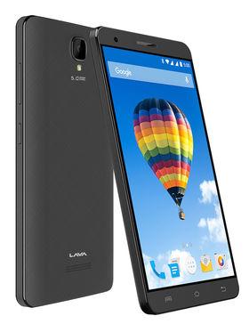 Lava Iris Fuel F2 5 Inch Android Lollipop Smartphone ( ROM : 8GB Battery: 3000 mAh) - Black