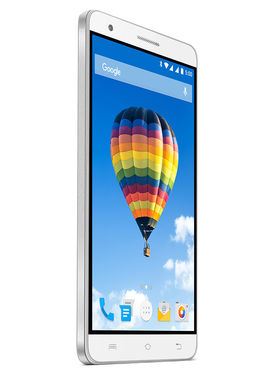 Lava Iris Fuel F2 5 Inch Android Lollipop Smartphone ( ROM : 8GB Battery : 3000 mAh) - White