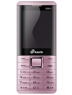Mtech STAR 1 Dual Sim Feature Phone - Pink