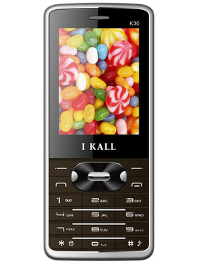 I Kall K36 Dual SIM Mobile Phone - Brown
