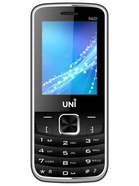 UNI N601 Dual SIM Mobile Phone - Black