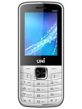 UNI N601 Dual SIM Mobile Phone - White