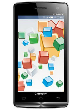 Combo of Champion KitKat 3G Smartphone(Black) + Champion Dual Sim Phone(Silver)