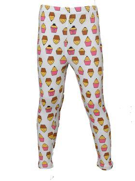 Pack of 5 Little Star Girl's Multicolor Leggings - PO5L_113