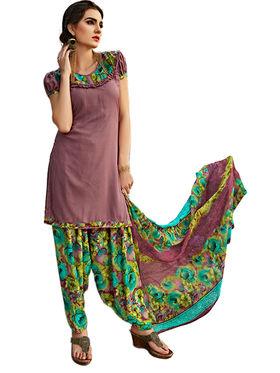 Viva N Diva Printed Unstiched Dress Material_11080-Stella