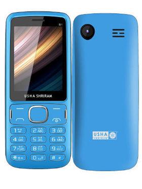 Usha Shriram B1 Feature phone (Blue and Black)