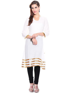 Viva N Diva Combo of 3 Cotton Semi Stiched Kurtis - 14-Lauren