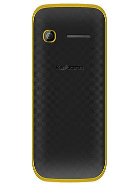 Karbonn Mobile K107 (Black Yellow)