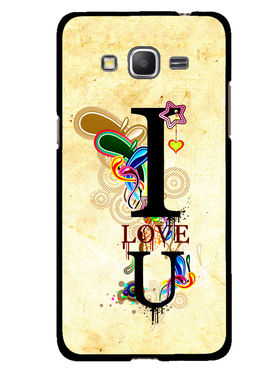 Snooky Designer Print Hard Back Case Cover For Samsung Galaxy Core Prime G360H - Cream