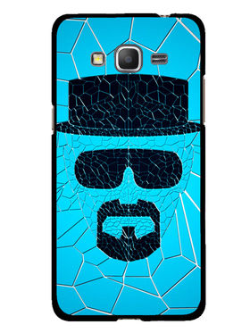 Snooky Designer Print Hard Back Case Cover For Samsung Galaxy Core Prime G360H - Blue
