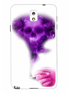 Snooky Designer Print Hard Back Case Cover For Samsung Galaxy Note 3 - Purple