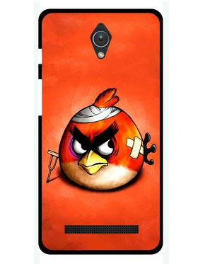 Snooky Designer Print Hard Back Case Cover For Asus Zenfone C ZC451CG - Orange