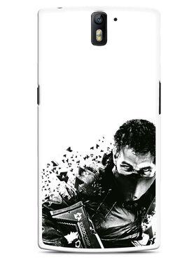 Snooky Designer Print Hard Back Case Cover For OnePlus One - Black